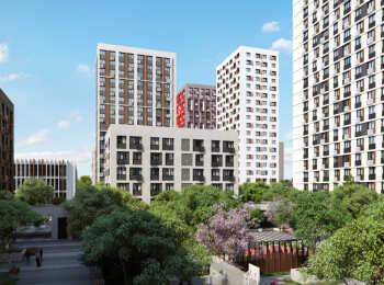 Дома высотой 6-20 этажей в жилом комплексе Ты и Я